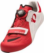 Pearl Izumi Men's Elite Road V5 White/True Red Cycling Shoes 151170012KA