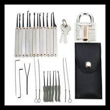 Profi 25tlg pickset lockpicking Set + CASTELLO strumenti Dietrich interrogarli utensile