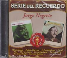 SEALED - Jorge Negrete CD NEW Serie Del Recuerdo 22 Tracks BRAND NEW