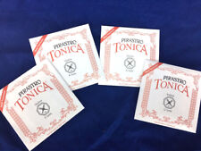 100% Authentic  Tonica Violin Strings Set Steel E Ball End 4/4