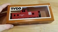 HO SCALE TRAIN Car IN BOX VINTAGE TYCO ATSF SANTA FE CABOOSE RED 7240