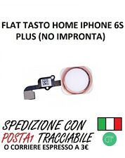 FLAT TASTO HOME TASTINO CENTRALE PER IPHONE 6S PLUS GOLD ROSE
