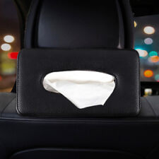 Universal Leather Auto Car Tissue Box Cover Napkin Paper Holder Towel Dispenser