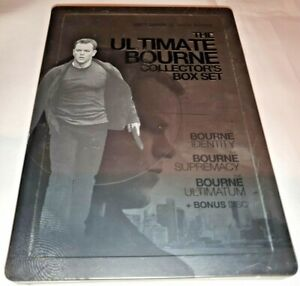 The Ultimate Bourne Collection - Collector's Box Set Steel Case