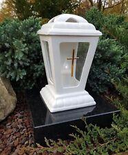Grablaterne Granitsockel LED  Grablampe Grableuchte Teelicht Grablicht Grabstein