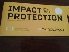 Rhino Shield Impact Protection Screen Protector For Apple iPhone 4/4s NEW