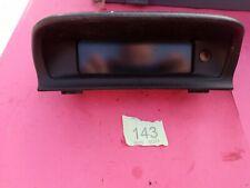 Peugeot 307 Display Screen - 9657882980 - Peugeot 307 Clock Screen 9657882980