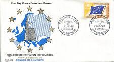 FRANCE FDC - 453a S27 2 CONSEIL DE L'EUROPE 3 1 1963