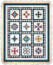 BOTM Complete Block of The Month Applique Quilt Patten Las Cruces  56 x 74