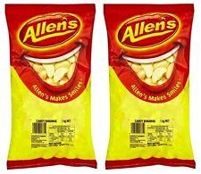 Bulk Lot 2 x Allens Bananas 1kg Bgs Lollies Buffet Treats Sweets Candy Party New