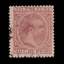 CUBA.1894. Alfonso XIII.20ct.Usado.Edifil.139