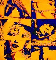 Marilyn Monroe 1968 Bert Stern Silkscreen Serigraph Art Last Sitting VTG COA #1B
