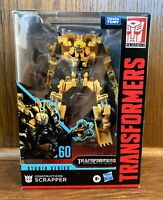 Constructicon Scrapper #60 Transformers Generations Studio Series Figure New NIB