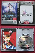 jeu  PS2 , FINAL FANTASY X-2, version Platinum, en très bon état