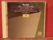MESSIAEN: QUATUOR POUR LA FIN DU TEMPS    CD  LIKE NEW  BR663