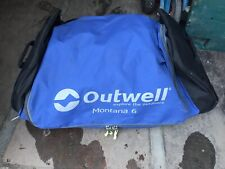 Outwell Montana 6 Roller Bag Only Used