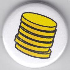 Fruit Machine Coins 1 Inch / 25mm Pin Button Badge Jackpot Casino Arcade Gambler