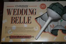 BOX OF 4 Wedding Belle 7cm Bouquet Holder Oasis DRY Foam for ARTIFICIAL FLOWERS