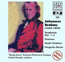 Johannes Brahms: Orchestral Works/4 CD-Set-come nuovo