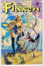 FLAXEN #1 DARK HORSE COMICS 1992 MODERN AGE NM UNREAD SIGNED BY STEVE RUDE