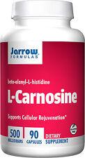 Jarrow Formulas L-Carnosine Beta-Alanyl-L-Histidine 500 mg 90 capsules