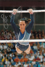 Beth Tweddle Hand Signed 12x8 Photo London Olympics 2012 Bronze Medalists 2.