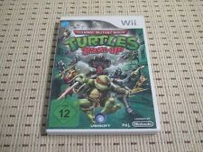Teenage MUTANT NINJA TURTLES SMASH-UP PER NINTENDO Wii e Wii U * OVP *