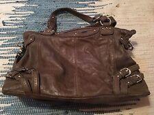 BEAUTIFUL J Duke Distressed Brown Crossbody Handbag