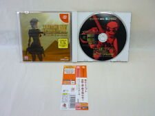 Dreamcast TOMB RAIDER IV 4 with SPINE CARD * Sega Capcom Japan Game dc
