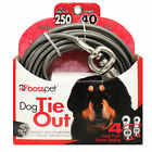 Large Breed Dog Tie Out Premium XXL Tough Stong Super Beast Cable Choose Length