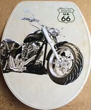 Loo with a View - Motor Bike Pressed Metal Decor Toilet Seat