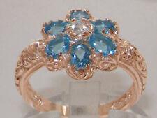 Topaz Rose Gold Natural Fine Rings