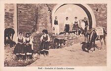 GREECE - Rodi Rhodes - Contadini di Castello a Cremasto 1953