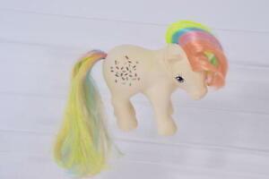 Confetti (Rainbow Hair) Vintage G1 MLP My Little Pony 1983 Hasbro Figure