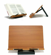 Portable Folding Book Stand Reading Desk Document Bible Ipad Holder Bookholder N
