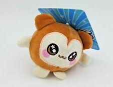 Fuzzy Squishy Squeezamals 3.5 Inch Plush Brown Monkey