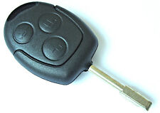 Ford Fiesta Focus Fusion Ka Kuga Mondeo Puma 3 Button Remote Key Fob Case