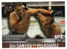 2015 Topps UFC Champions Championship Clashes 12 Cain Velasquez/ Dos Santos