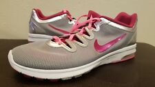 Women'sNike Air Max Fusion Running Shoes 555161-010 SZ 11 Silver/Pink 40B