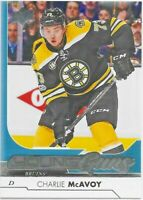2017-18 Upper Deck #242 Charlie McAvoy YOUNG GUNS RC: Boston Bruins