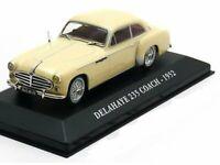 Scale model car 1:43 DELAHAYE 235 COACH 1952 Creme-White