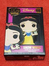 Funko Pop Pin #08 Disney Snow White Enamel Collector Pin * New In Box