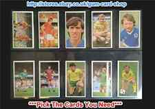 ☆ Bassett (Barratt) - Football 1984-85 (VG) ***Pick The Cards You Need***