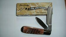 Vintage Frost One Arm Razor Japanese Knife Honey Comb Bone Model 10-901HCB