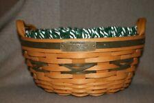 New ListingLongaberger Christmas Collection 1999 Edition Popcorn Basket