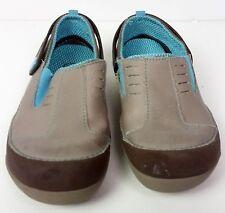 Grey & blue Child crocs sz 3 boys & girls