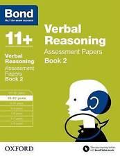Bond 11+: Verbal Reasoning: Assessment Papers: 10-11+ years Book 2 by Jane...