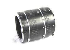 OLYMPUS OM FIT JESSOPS Extension Tubes. 13mm, 21mm, 31mm for OM Mount Lenses.