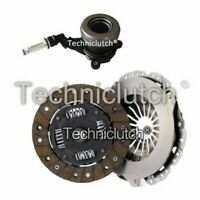 NATIONWIDE 2 PART CLUTCH KIT AND LUK CSC FOR VAUXHALL CORSA HATCHBACK 1.0 12V