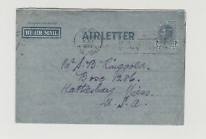 Airmail to USA   (BY102)